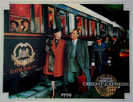 The Venice-Simplon Orient Express uses a set of restored Wagons-Lit cars in Continental Europe (as shown in this publicity picture).