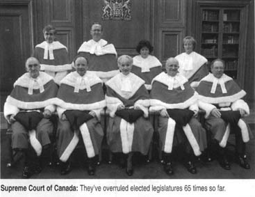 Canadian Supreme Court justices