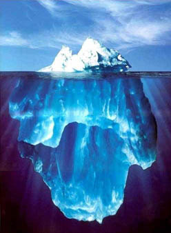Feminism is like an iceberg.  Most of it is hidden.