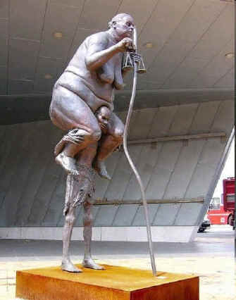 Sorry, I don't have any details about this image other tahn the file name under which it had been sent to me.  I hope that someone will be able to tell me who the sculptor is.