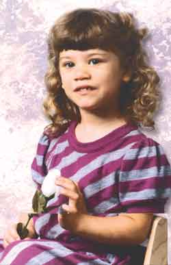 Fetal alcohol syndrome: Nyssa Campbell at age 3: Because her birth mother drank, the child faces horrific lifetime odds.